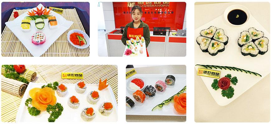 寿司培训班学员作品