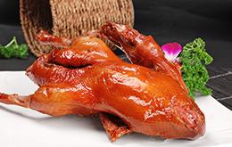 果木炭烤鸭