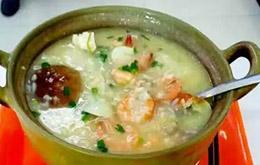 学员海鲜砂锅粥作品