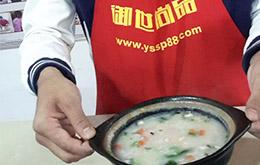 学员养生砂锅粥作品