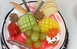 学员水果奶油蛋糕作品