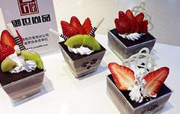 学员草莓巧克力慕斯作品
