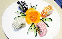 学员花式外卷寿司作品