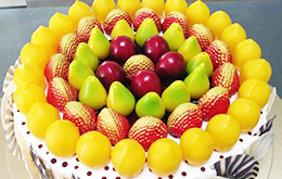 学员水果蛋糕作品