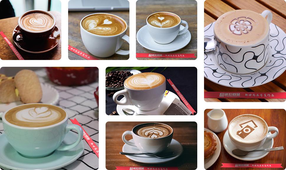 花式咖啡学员作品